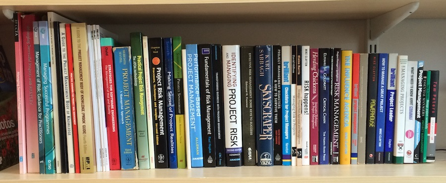 Project Management Bookshelf - Mike Clayton's Project Management Books