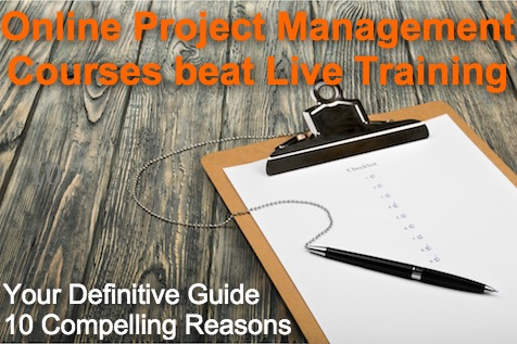 A Good Online Project Management Course Beats Live Training