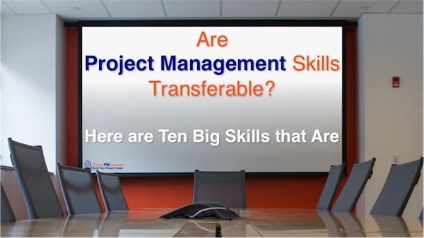 Transferable Project Management Skills
