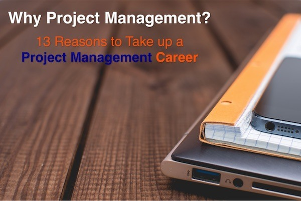 Why take up a Project Management Career