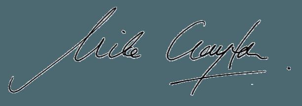 Mike Clayton Signature