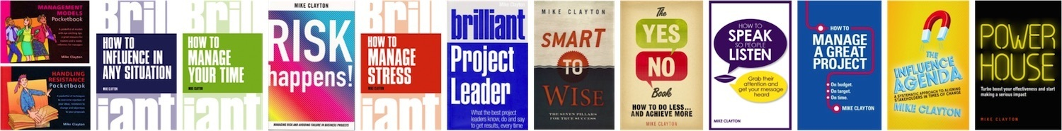 Mike Clayton's Books