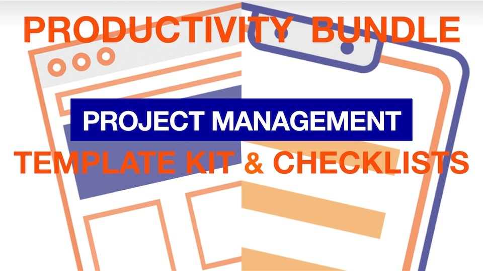 Project Management Productivity Bundle