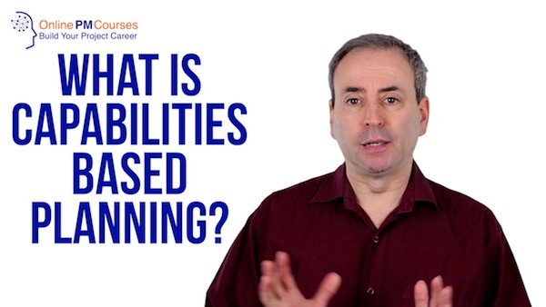 What is Capabilities Based Planning?