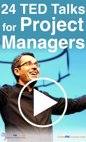 24 TED Talks for Project Managers