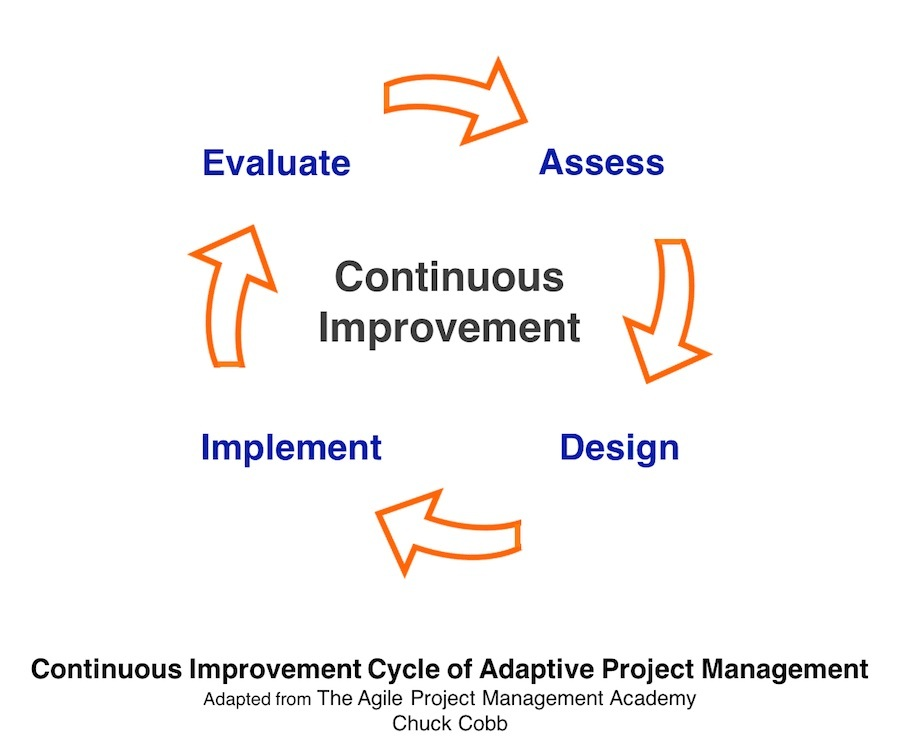 Continuous Improvement Cycle of Adaptive Project Management
