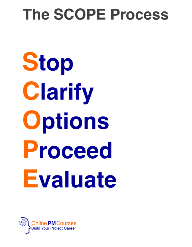 The SCOPE Process