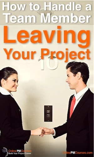 How to Handle a Team Member Leaving Your Project