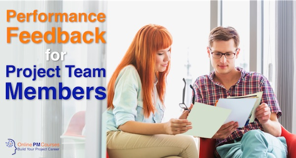 Performance Feedback for Project Team Members