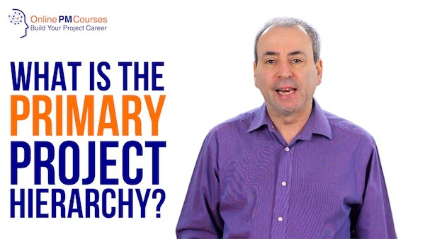 What is Primary Project Hierarchy
