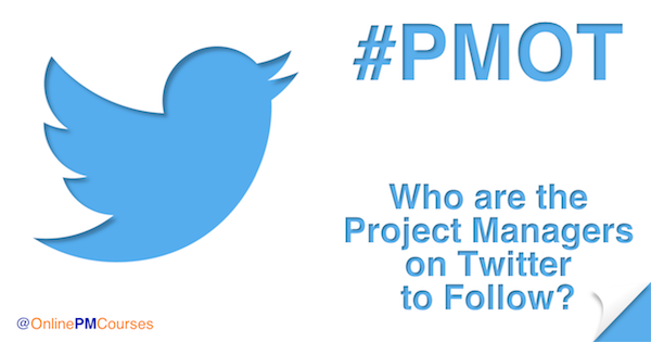 #PMOT - Who are the Project Managers on Twitter to Follow