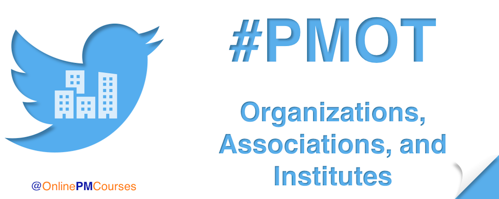 #PMOT Organizations, Associations, and Institutes
