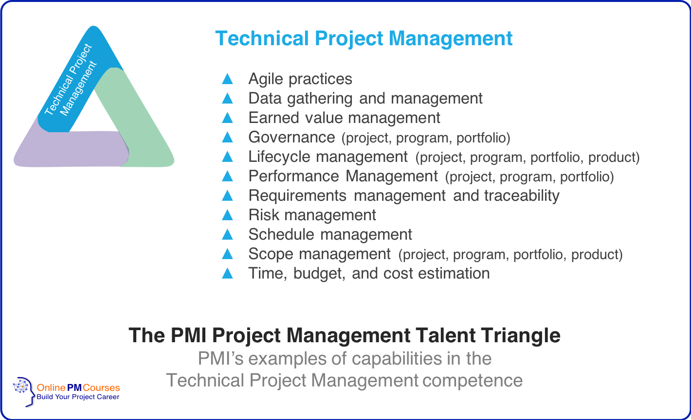 The PMI Project Management Talent Triangle - Technical Project Management