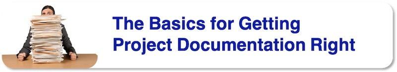 Basics for getting Project Documentation Right