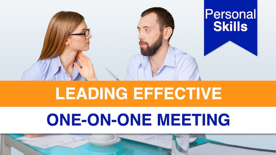 Leading Effective One-on-One Meetings