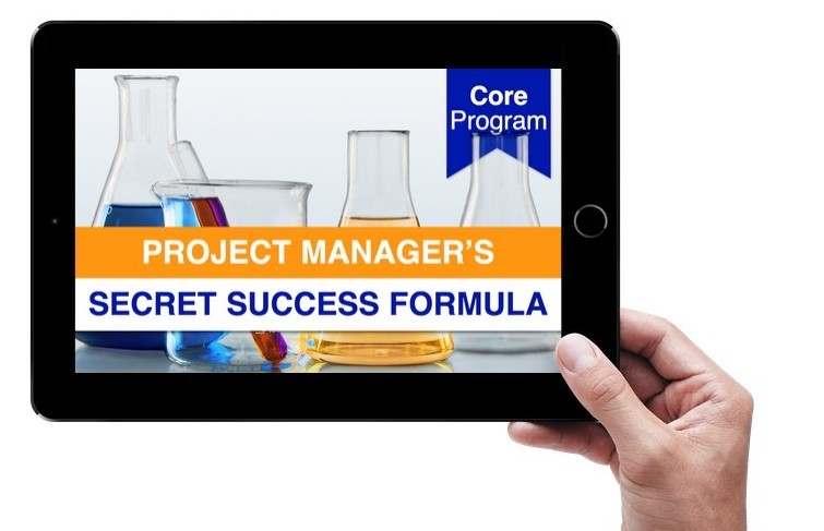 Project Manager's Secret Success Formula - Tablet